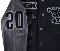 diamond supply co diamond supply co x dgk letterman jacket wool leather mens