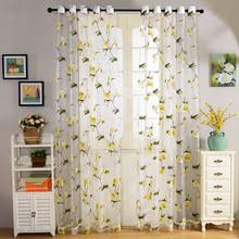 Yellow Patterned Curtains Buy Yellow Patterned Curtains And Get Free Shipping On Aliexpress