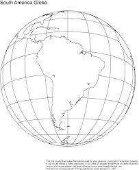 9 best images of printable outline world globe printable blank