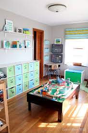 Organizing A Living Room by Playroom Makeover Room Reveal Love Grows Wild