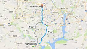 I 95 Map Sameride Commute On Demand Carpool For Express Lanes Commute Blog