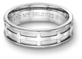 martin luther wedding ring engraved rings