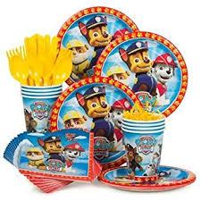 Paw Patrol Cake Decorations Amazon Com Paw Patrol Party Supplies Kit For 8 Toys U0026 Games