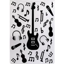 Embossing Templates Card Making - aliexpress com buy ylef090 guitar plastic embossing folder for