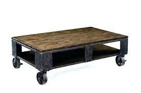 rustic coffee table with wheels rustic coffee table on wheels fieldofscreams