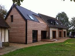 extension maison contemporaine agrandissement maison bois prix m2 extension agrandissement de