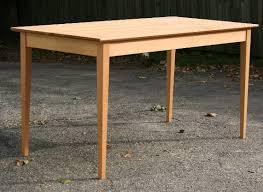 handmade shaker dining table