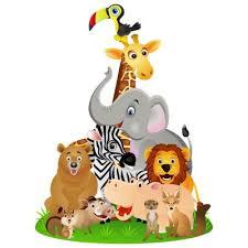 stickers jungle chambre bébé sticker animaux jungle décoration afrique pour chambre bébé