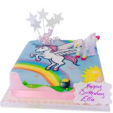 Cake Order Unicorn Birthday Cake Order Online From The Brilliant Bakers
