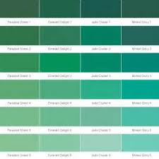 carboline color chart range of color options which vary by