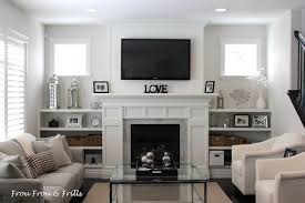 how to decorate living room with fireplace home