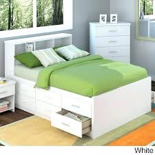 bookcase headboard king twin storage bed with bookcase headboard