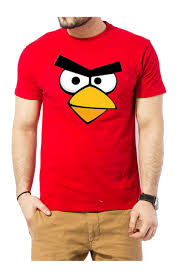 angry birds red shirt
