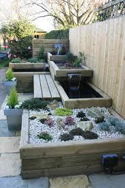 100 garden feature wall designs wood retaining wall design