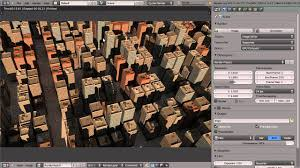how to create a city in blender youtube