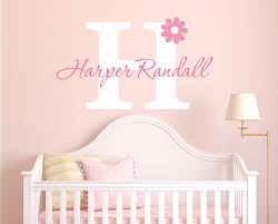 nursery flower name wall decal by decor designs decals flower wall nursery flower name wall decal by decor designs decals flower wall decal girls