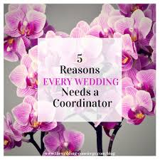 day of wedding coordinator 5 reasons every wedding needs a coordinator