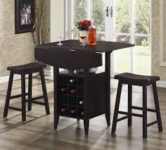 Indoor Bistro Table And Chairs Wooden With Round Cuhsion Bistro Sets For Patio Decor Milan Small