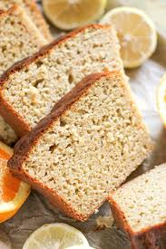 healthy citrus pound cake recipe made without butter and sugar