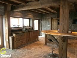 fabriquer sa cuisine en bois meuble vieux bois beau construire sa cuisine en bois et plan de