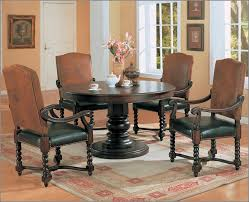 Round Formal Dining Room Sets For 8 by Kitchen Round Dining Table With Leaf Havertys Leather Dining