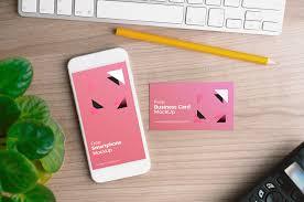 holding business card mockup mockupworld