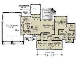 single story home floor plans uncategorized modern single storey house plan notable inside