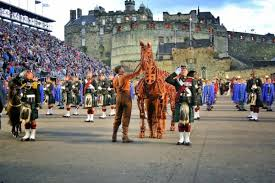 tattoo edinburgh dates war horse performs at the 64th royal edinburgh military tattoo