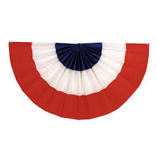 Blue Flag White X Amscan 36 In X 72 In Red White And Blue Bunting 241127 The