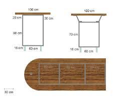 fabriquer une table bar de cuisine comment fabriquer un bar soi même plan et guide avec les photos