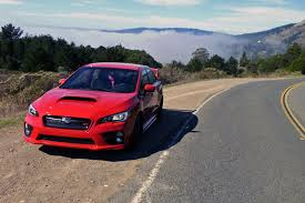 subaru sti 2016 red car reviews independent road tests by car magazine