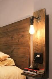 Headboard With Lights Headboard Light Fixtures Throughout Best 25 Lights Ideas On
