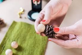 Pinecone How To Make Mini Pinecone Elf Ornaments Hgtv