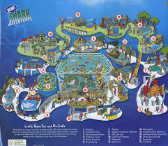 Universal Map Sea Life Aquarium 2011 Map Maps For Kids Pinterest