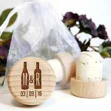 wine stopper wedding favors discount laser engraved wood wine stopper wedding favors