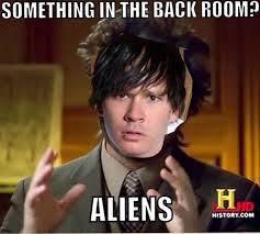 Aliens Meme Generator - ancient aliens the origins rta902 social media medium