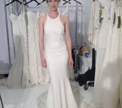 miller dresses fashion trends high neck spaghetti straps mermaid floor length