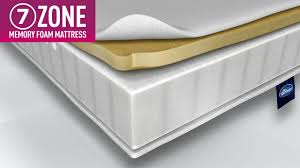 mattress now 7 zone memory foam mattress youtube