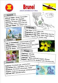 Black And Red Flag Country Brunei Asean Country Fact File Online4english