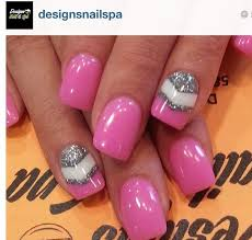 pink white valentines nail design 39 perfect pink nails