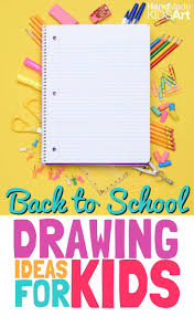 7 creative back to drawing ideas for kids kids steam lab