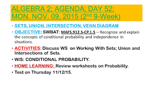 honors algebra 2 probability test 100 images algebra 2