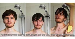 Shower Meme - funny how people shower memes that are just a little offensive
