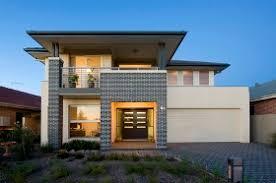 modern brick house midland brick