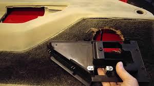 Interior Repair C4 Corvette Interior Repair Youtube