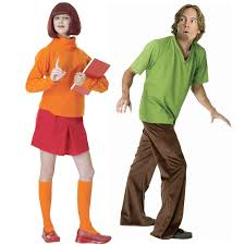 couples costume scooby doo shaggy and velma couples costumes