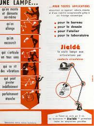 le de bureau jielde marque jieldé publicité vintage made in monsieur