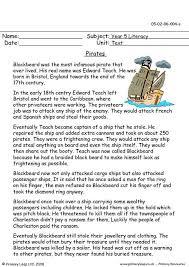 primaryleap co uk pirates worksheet