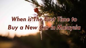 mycarsearch car buying guide when is the best time to buy a new