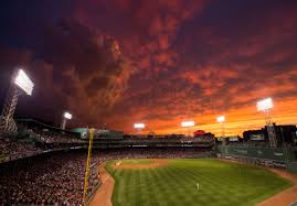 the sunset over fenway park was awe inspiring last night huffpost